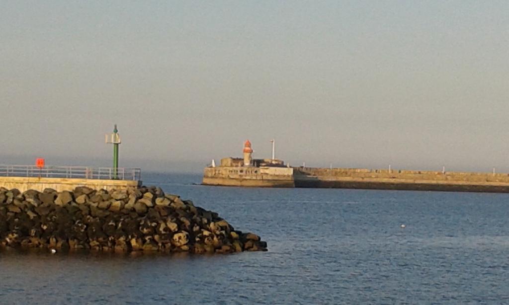 Dun Laighaire harbour (10 mins drive)
