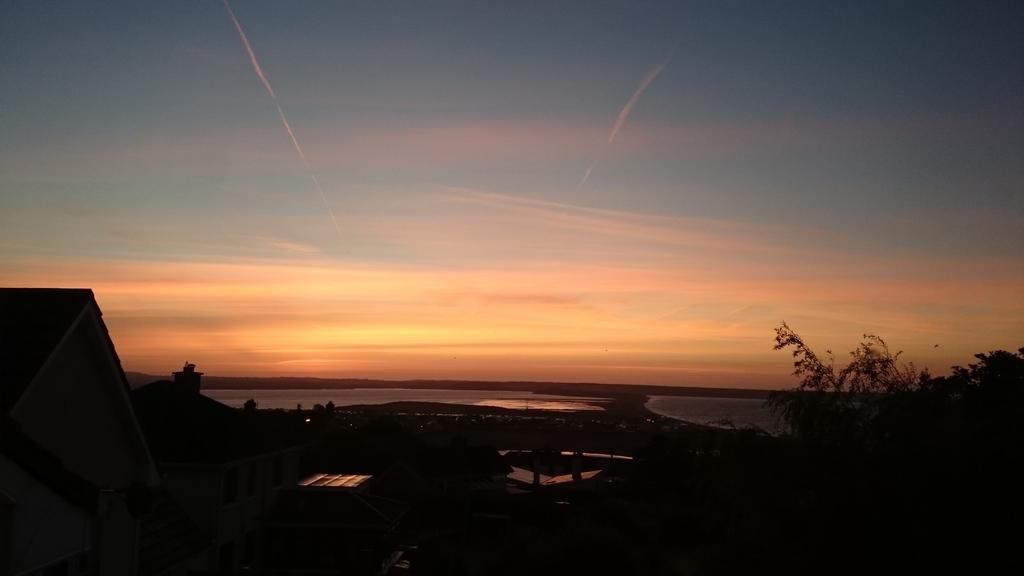 Sunrise from sun room