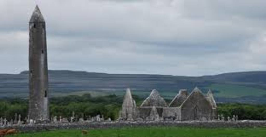 Kilmacduagh Round Tower and Monastic site is just 10km away