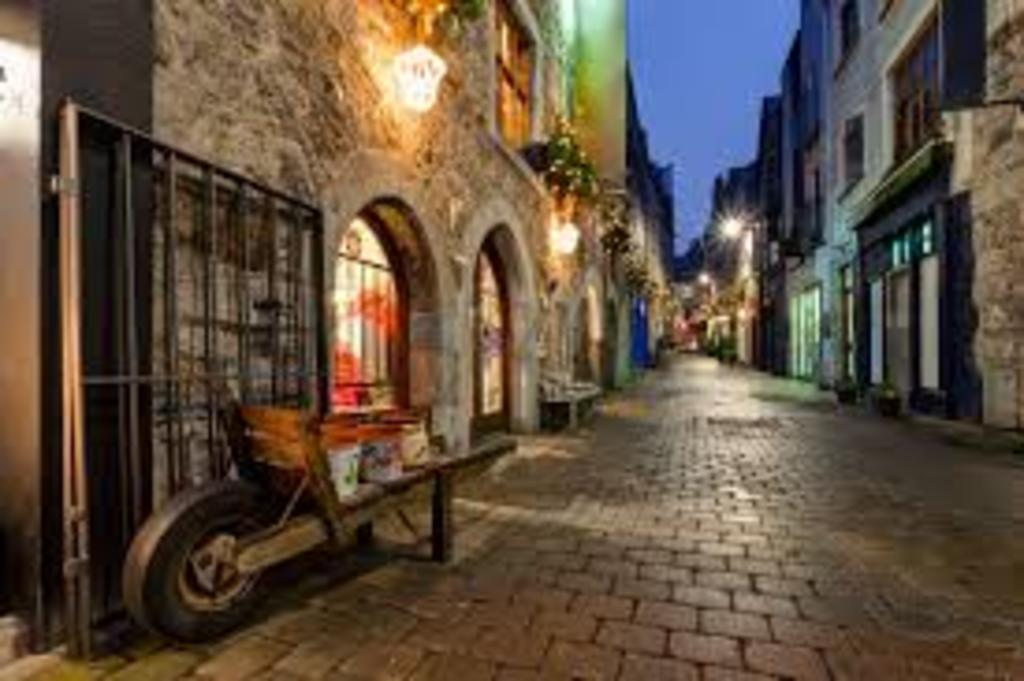 Bustling Galway City is just 37kms away