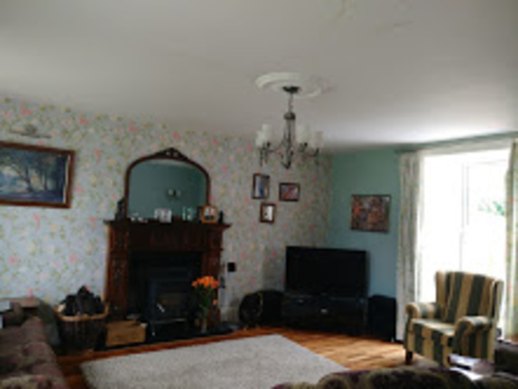 Front Room with T.V