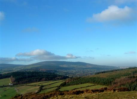 Dublin mountains
