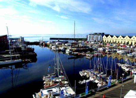 Galway Docks on a summer morning