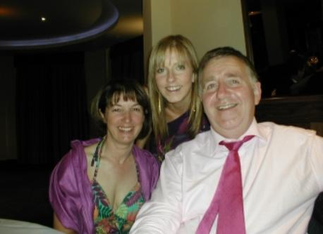Aine and Padraig with Eldest Daughter Susie