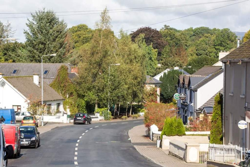 View of Main Street, Dromahair.