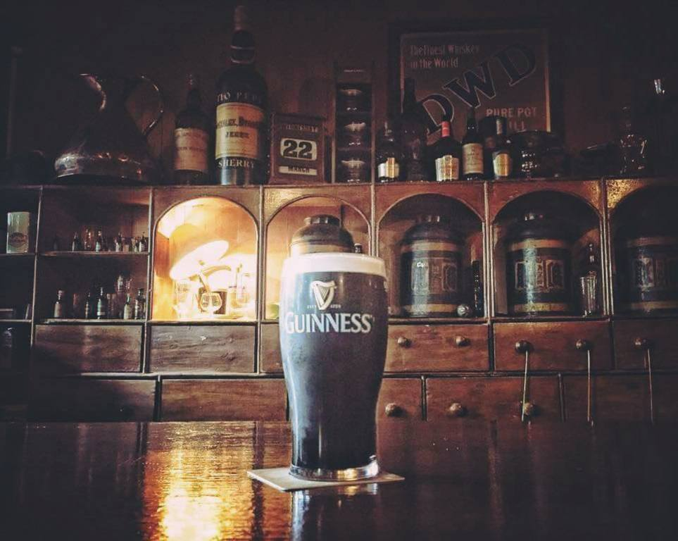 Enjoy a lovely pint of creamy Guinness in one of the wonderful pubs in our area.