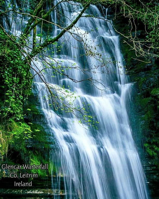 The magnificent Glencar Waterfall, Co. Leitrim