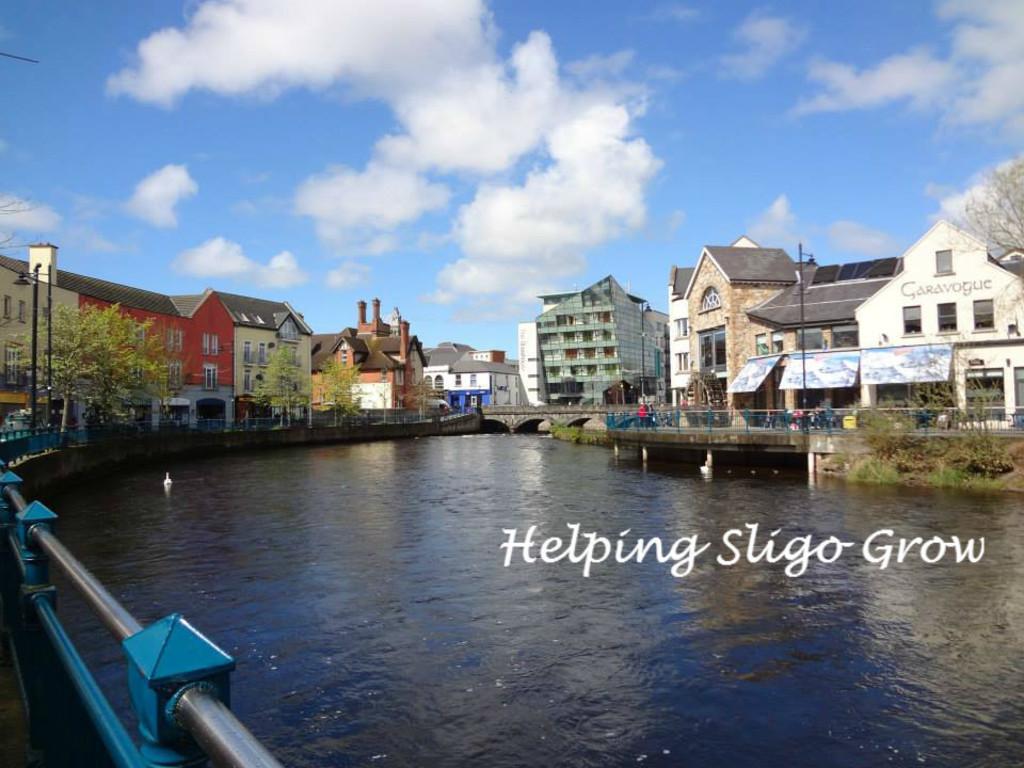 View of the River Garavogue, Sligo (20 mins).