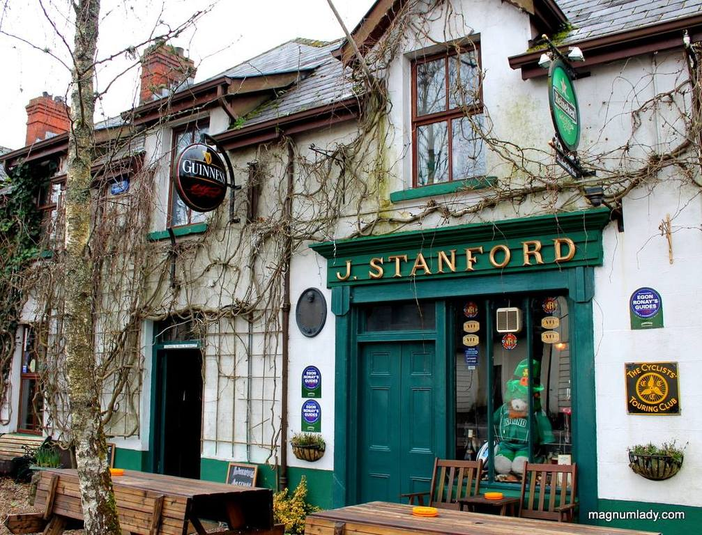 Our local Dromahair pub,Stanford's. Great place to meet people and enjoy a pint!