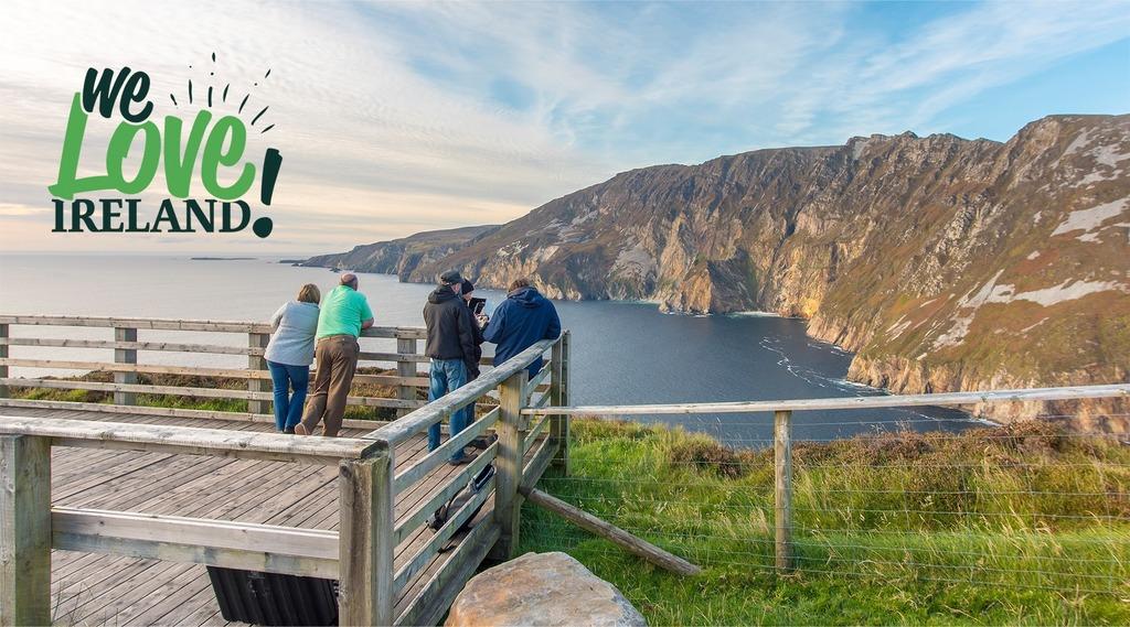 Slieve League cliffs, Co. Donegal (1 hour 50 mins).