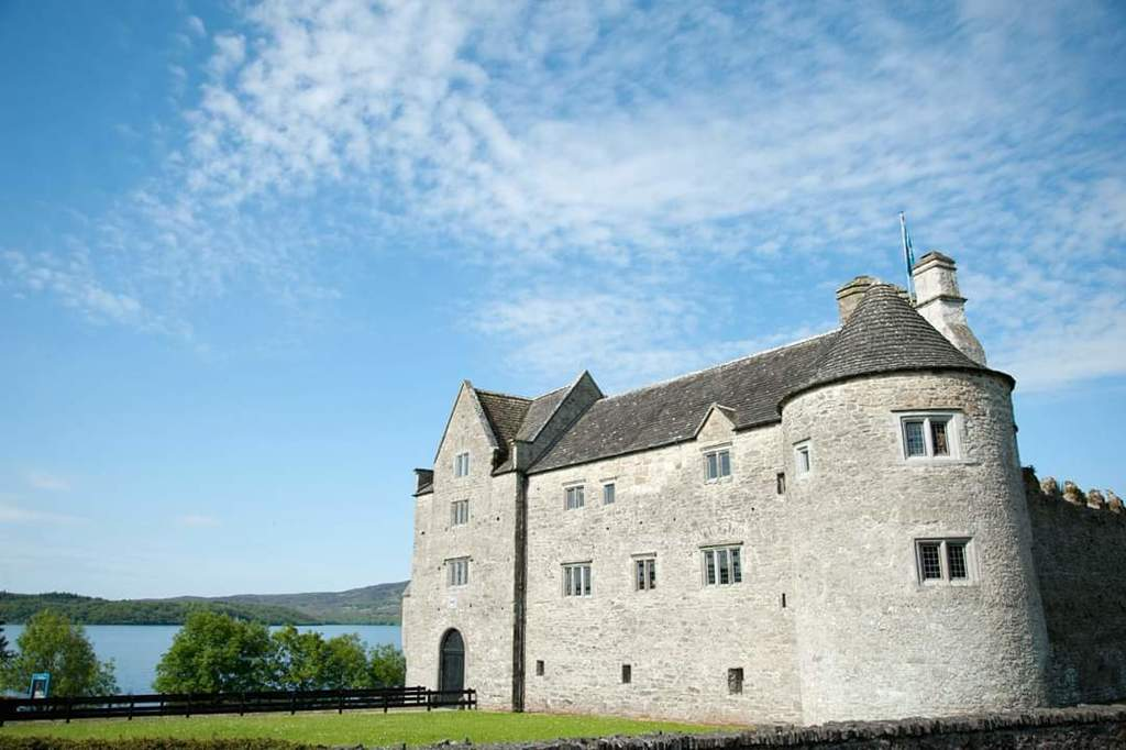 Parkes Castle, on the shore of Lough Gill (10 mins).