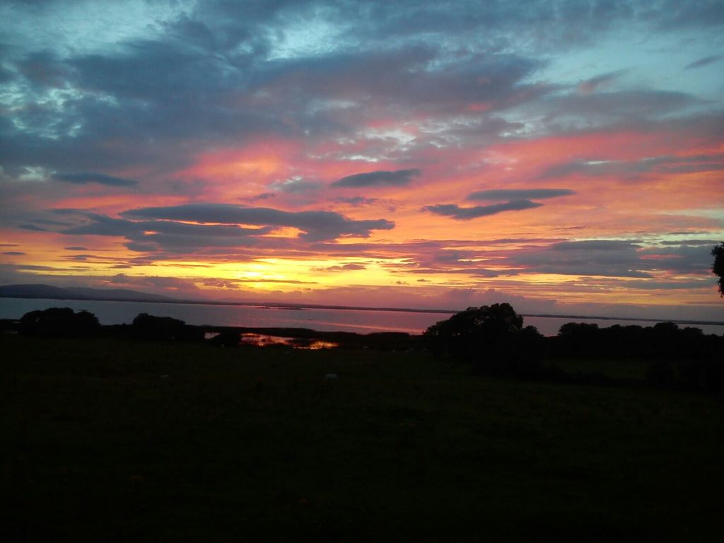 Sunset over Lough Corrib