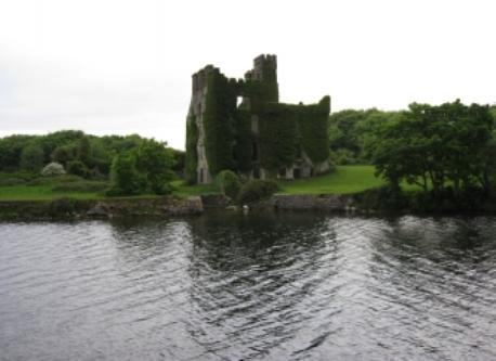 Menlo castle is a local tourist attraction