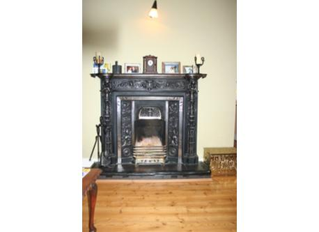 Our sitting room fireplace