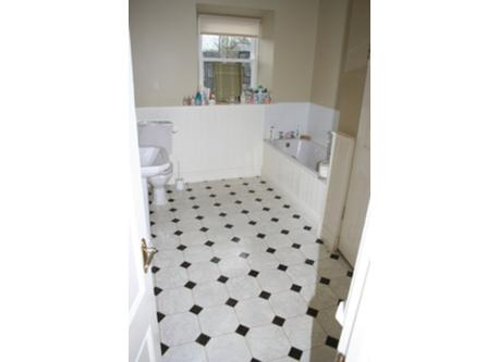 Our downstairs bathroom