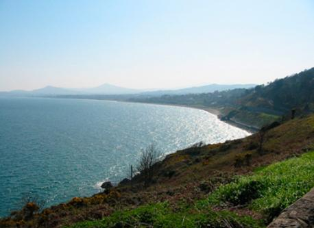 Dublin Bay and Wicklow Mountains