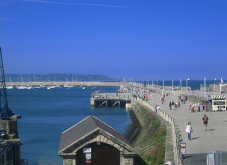 Dun Laoghaire on a Sunny Day