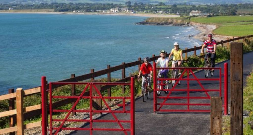 Cycle or walk on our beautiful greenway!