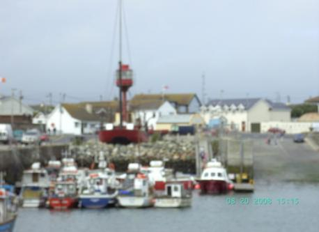 Kilmore Quay, a beautiful fishing village in Wexford, 80 km. (Best fish'n'chips in Ireland!)