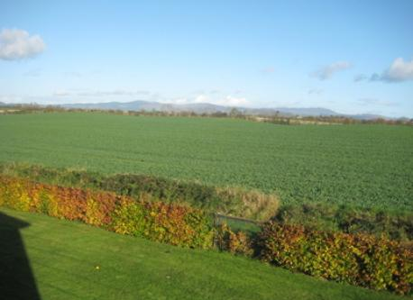 view towards cooley mountains from bedroom