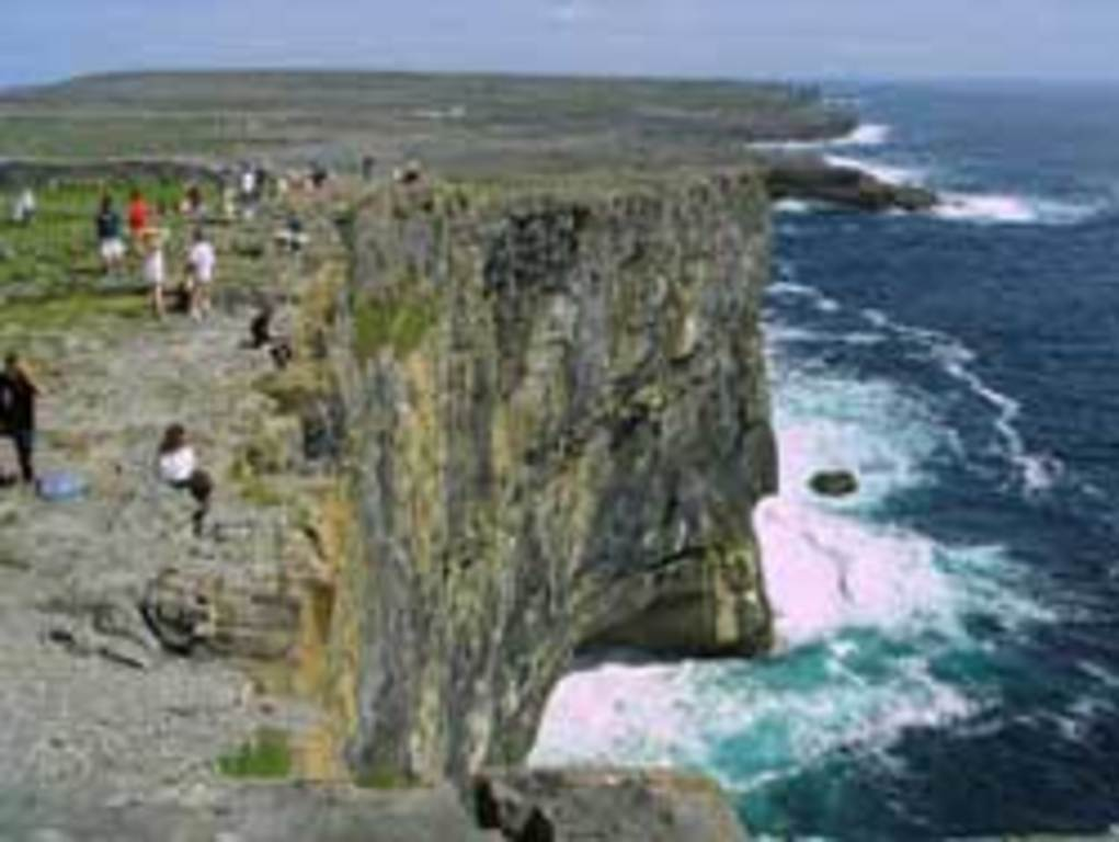 Take a ferry boat to the Aran 