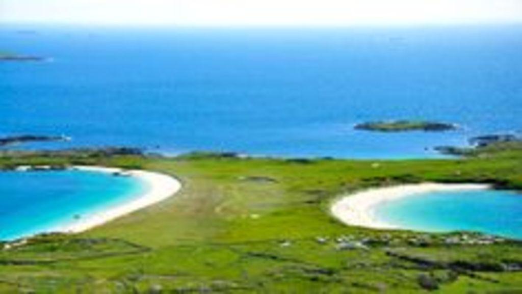 Beautiful safe clean beaches in Connemara