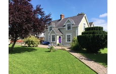 Front of house and garden