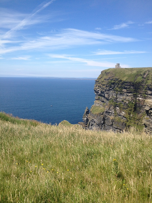1.25hrs : The cliffs of Moher and the ARAN Islands, next stop America!