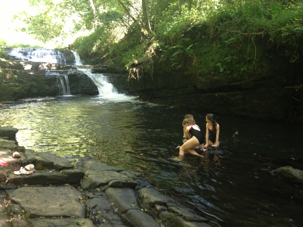 20 minutes-  Clare Glens,  beautiful for walking & swimming