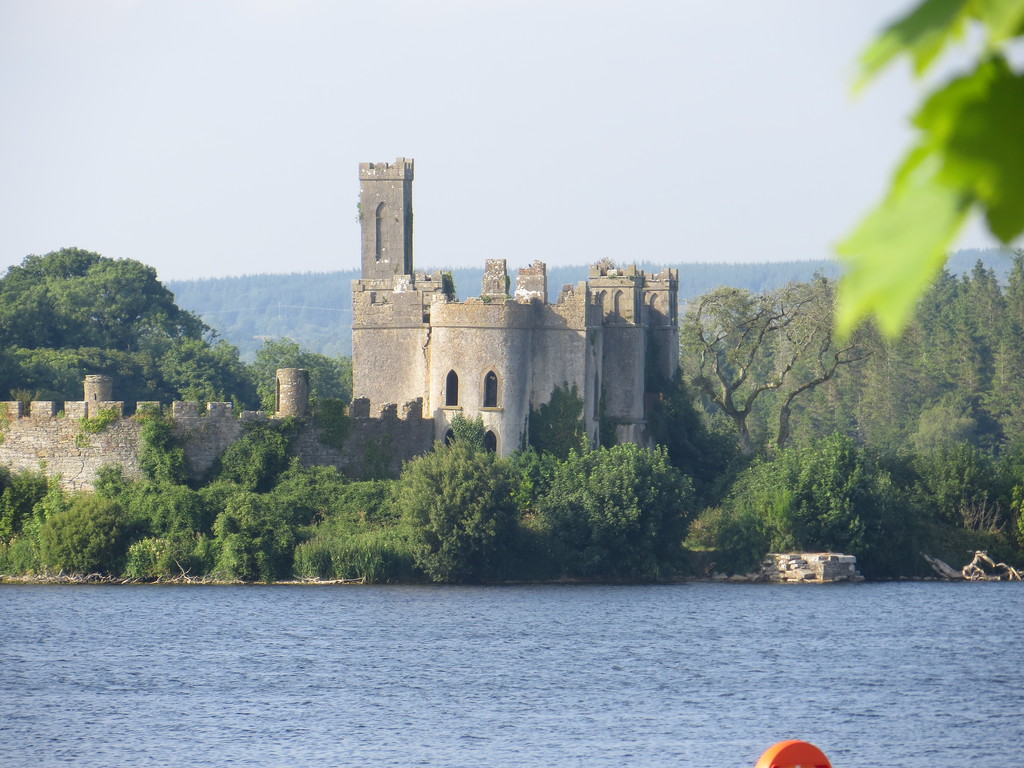 Castle in Lough Key adventure Park