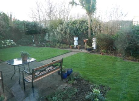 Rear Garden (in winter)