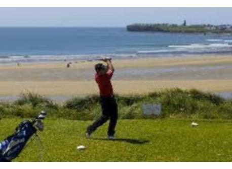Golfing at Lahinch