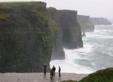 Cliffs of Moher is less than 1 hour from Quin