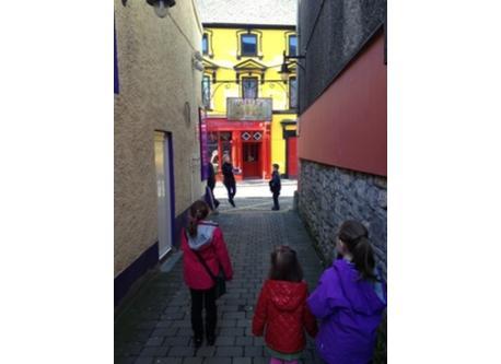 Side streets in Ennis