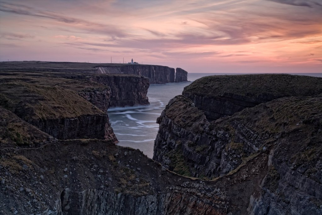 Loop Head at the South West tip of County Clare