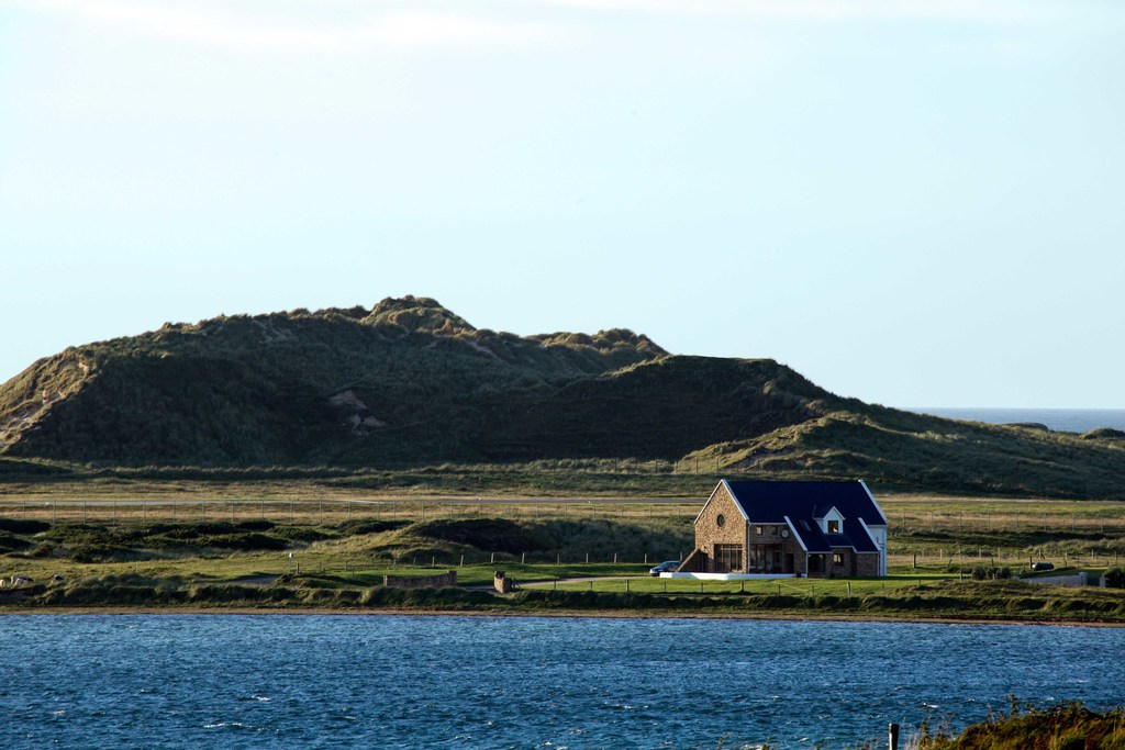 Our house by the sea in Carrickfinn, Donegal