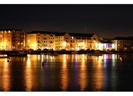 Dungarvan by night