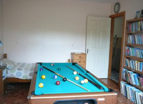 Bedroom 4 - poolroom and kids library