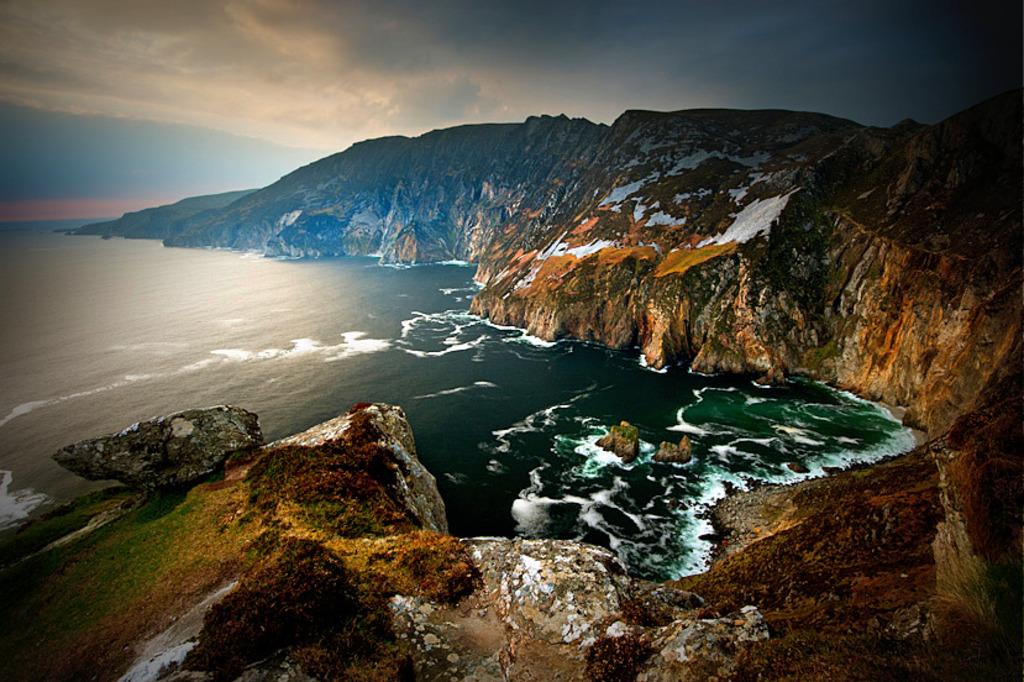 Slieve League, Co. Donegal Europe's highest sea cliffs (3 times higher than the Cliffs of Moher)  [ © Emmett McLaughlin, ww...