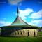 St. Aengus Church, Burt (20km)  Voted Ireland's Building of the 20th Century [ © Emmett McLaughlin, www.curiousireland.com ]