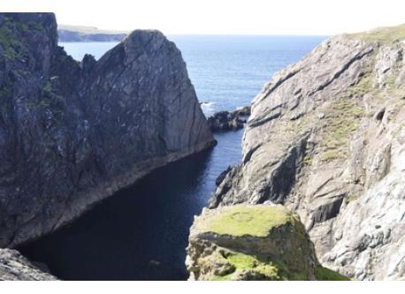 Inishbofin cliffs
