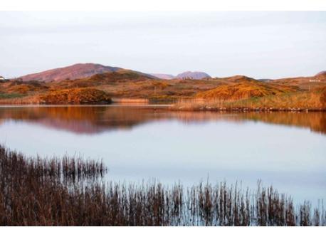 Lake at Cleggan