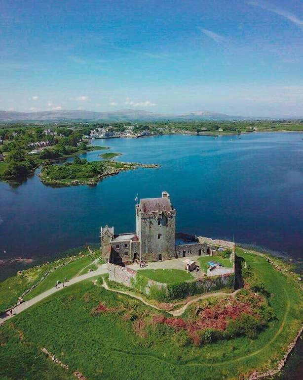 Kinvara Castle and Bay