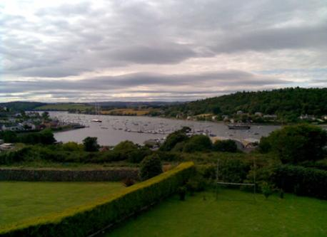 view of Crosshaven from back garden