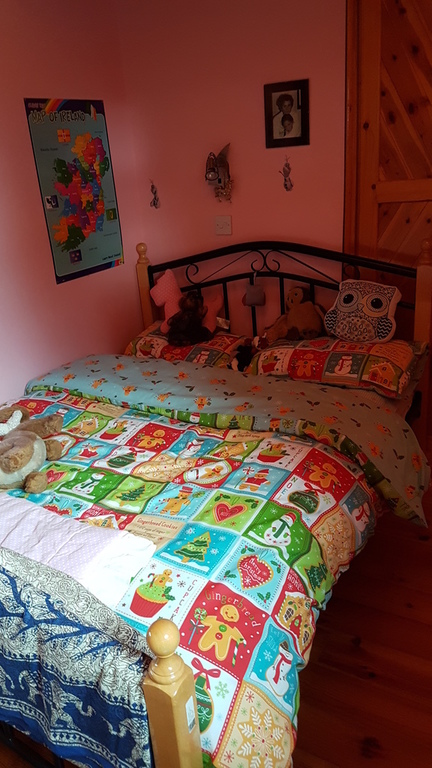 Children room (double bed) with toy-rooms.