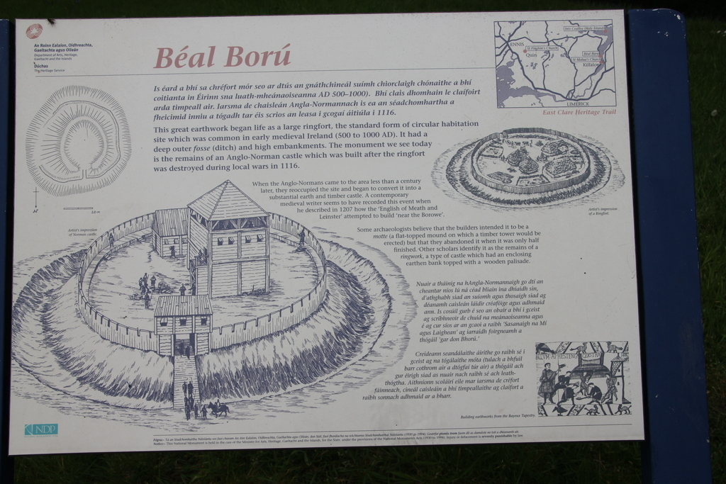 Brian Boru Fort in Killaloe.