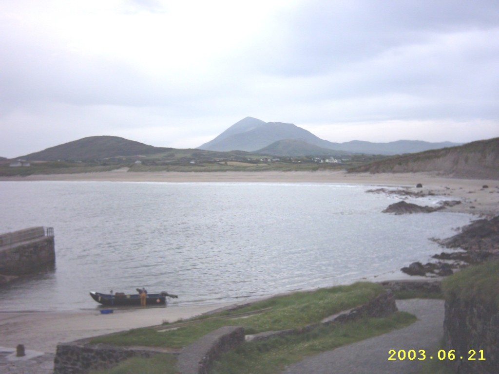 Carrowmore Pier and beach, Louisburgh