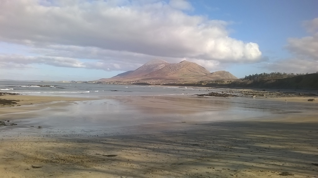 Old Head view towards Croagh Patrick