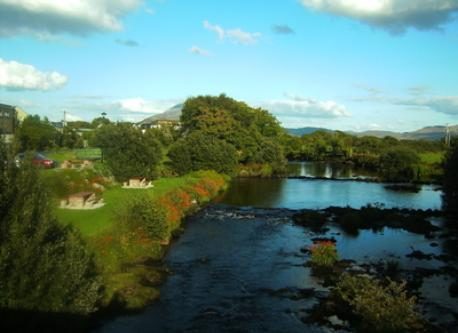 Bunowen river park in Louisburgh town