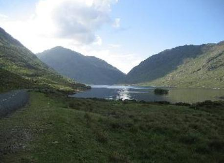 Doolough lake, 5km south of Louisburgh towards Galway